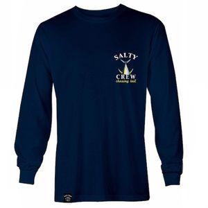 Salty Crew Shirts - [Salty Crew] Chasing Tail Tech Long Sleeve Tee - M